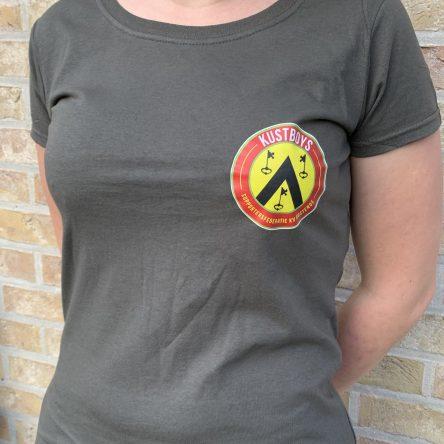 T-shirts kustboys logo vrouw