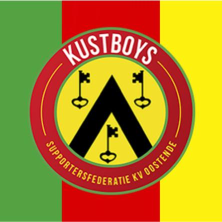vlag groen-rood-geel kustboys logo
